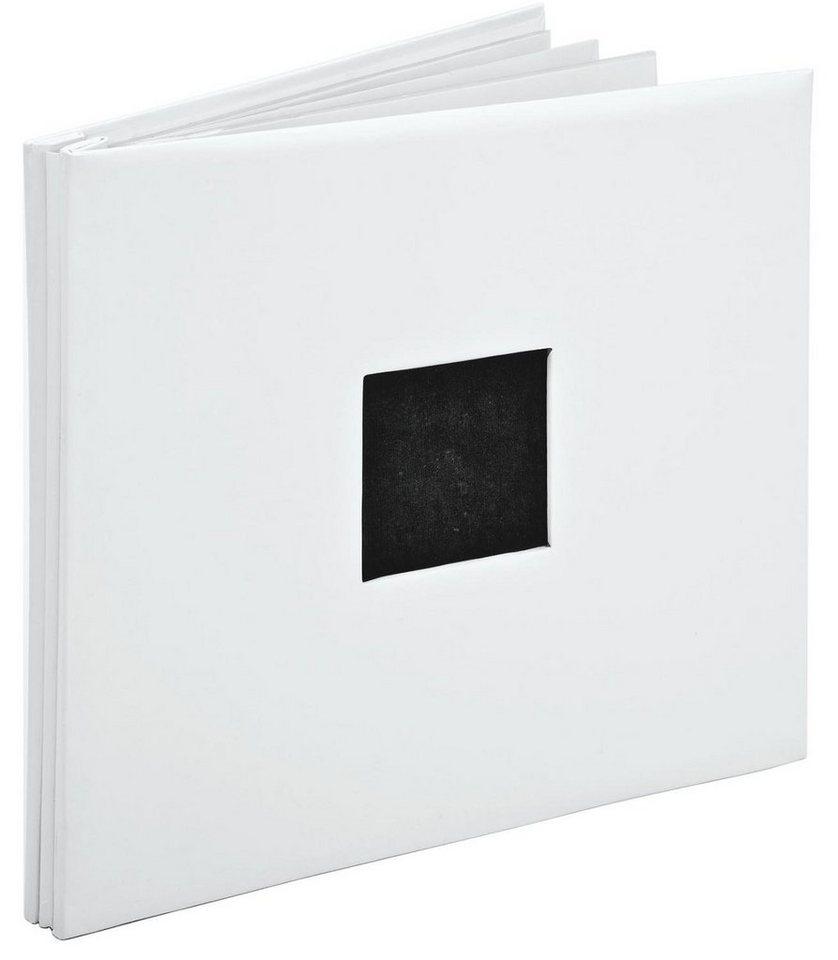 Schraub-Album mit Passepartout