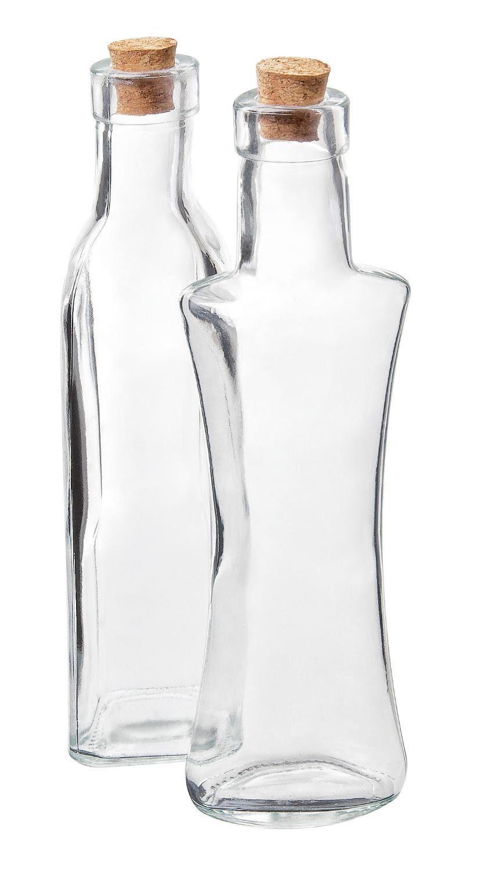 """VBS Glasflaschen """"Botri"""", 2er-Set"""