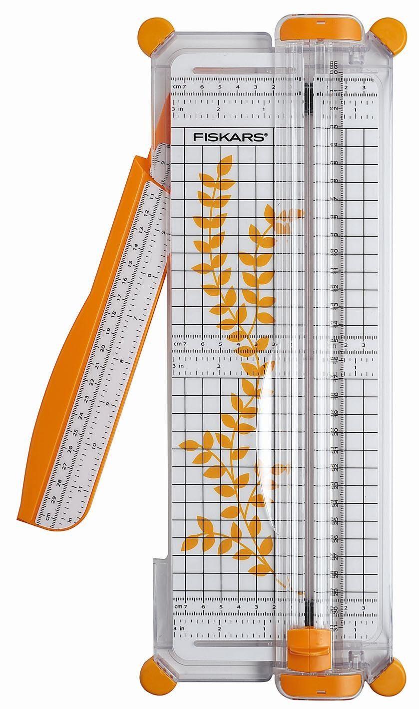 """Fiskars Papier-Rollschneidemaschine A4 """"SureCut"""" 38 x 15 cm"""