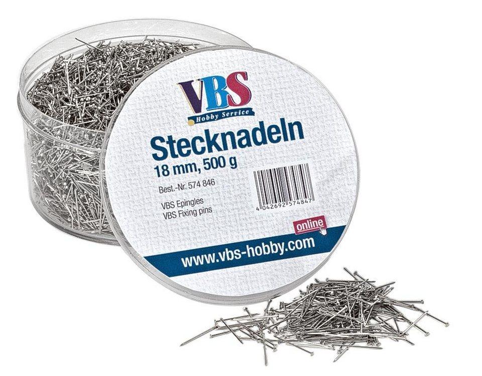VBS Stahlstecknadeln 18 mm