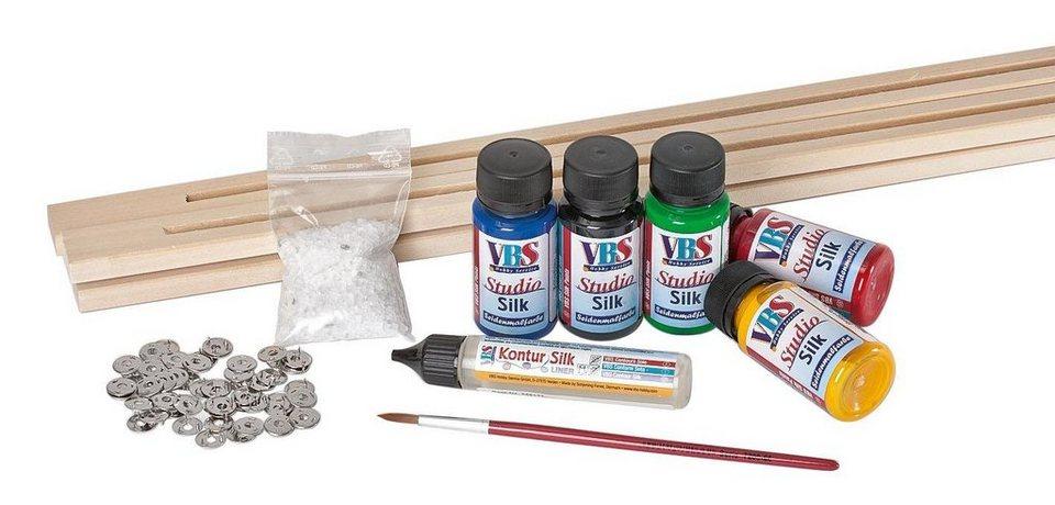 VBS Komplettset Studio Silk mit Rahmen