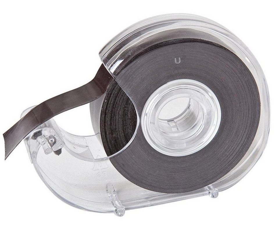 Magnetband auf Abroller, selbstklebend