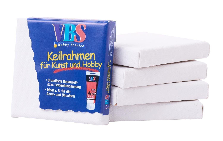 VBS 5 Keilrahmen , 10x10cm