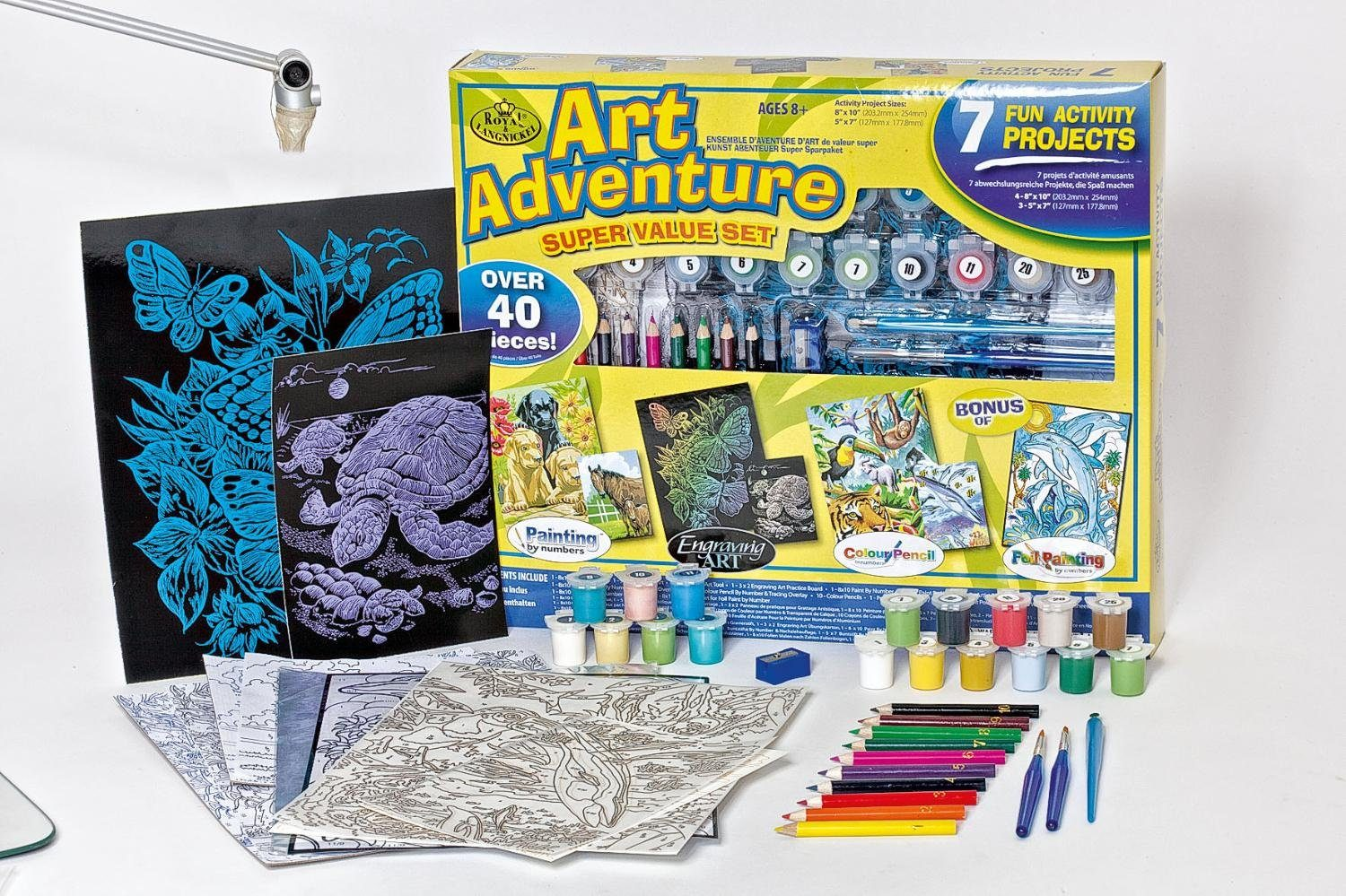 Royal Langnickel Art Adventure Mega-Set