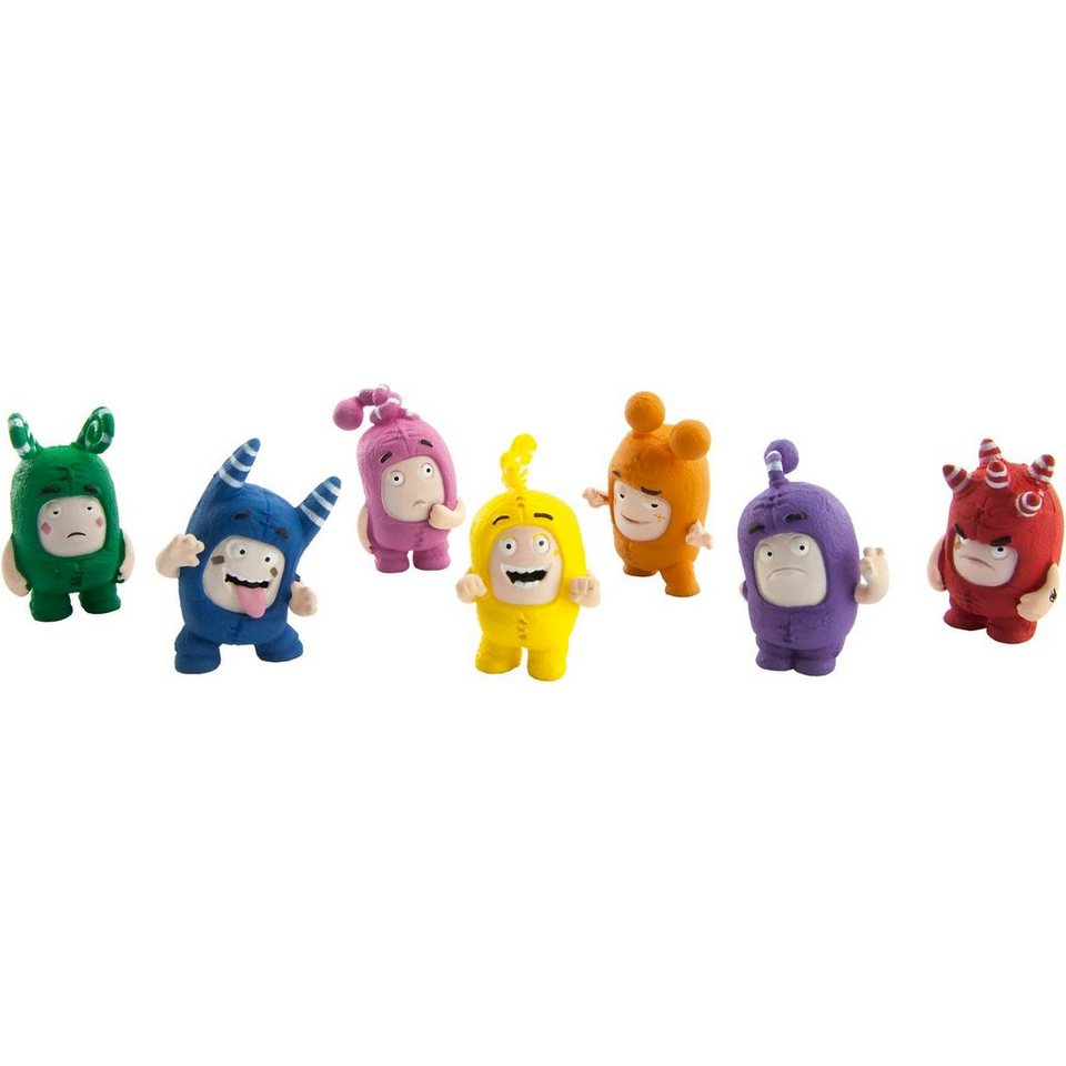 Goliath Oddbods Action Pack 7 Figurines