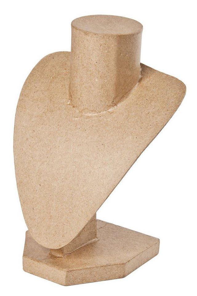 VBS Büste, aus Pappmaché