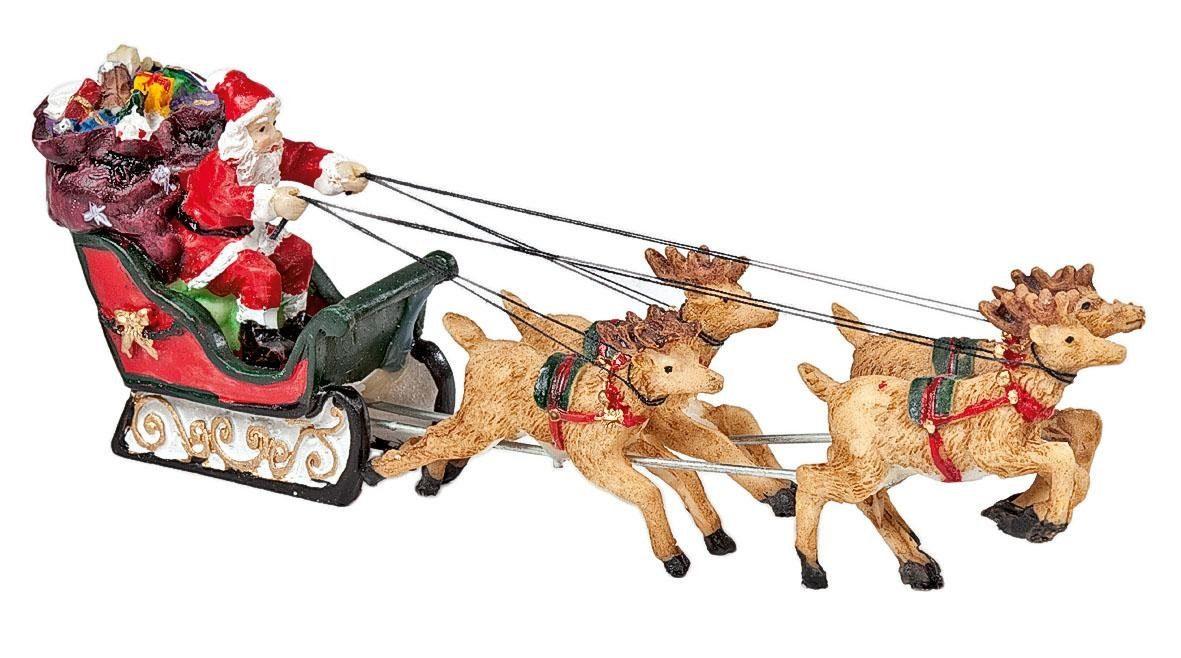 """VBS Deko-Figur """"Weihnachtsmann on Tour"""""""