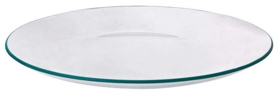 VBS Glasteller, rund