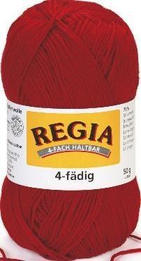Regia Sockenwolle, 4-fädig, 100g in Superweiß, Fb 2080