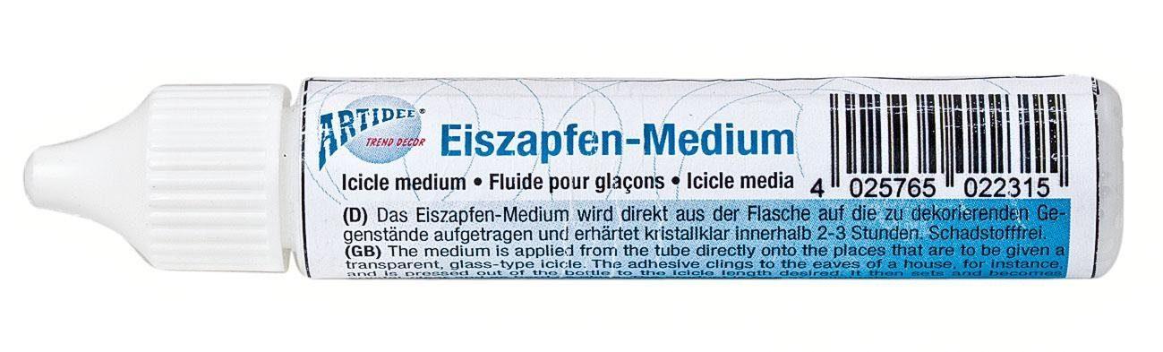 Eiszapfen-Medium, transparent