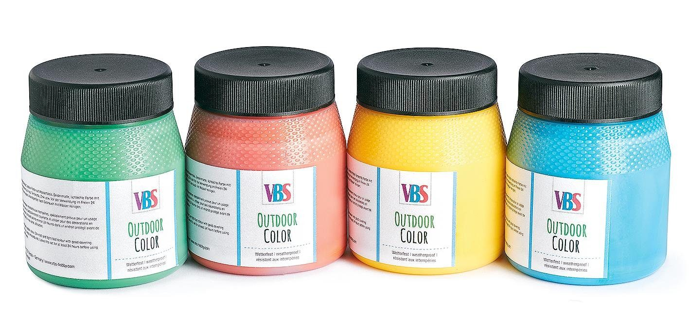 VBS Outdoor Color Farbset, 4er-Farbset
