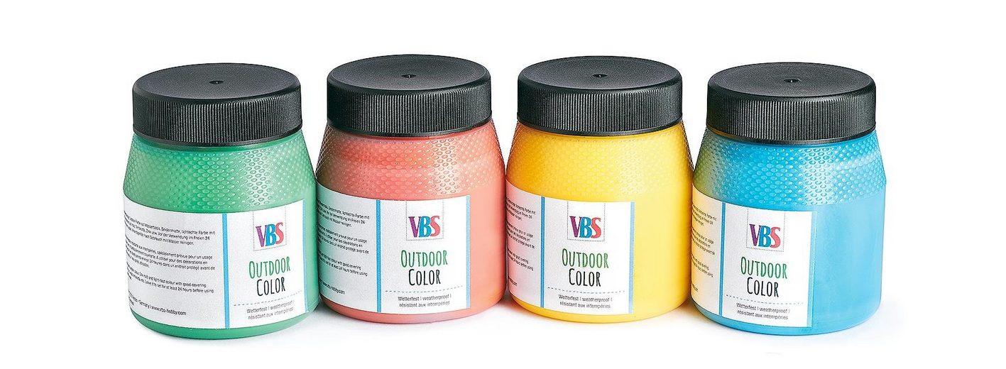VBS Outdoor Color Farbset, 4er-Farbset