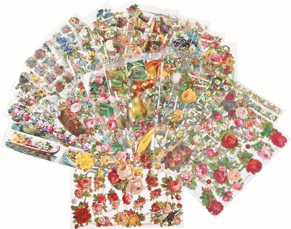 """Poesie-Bilder-Set """"Blumen"""", 25-teilig"""