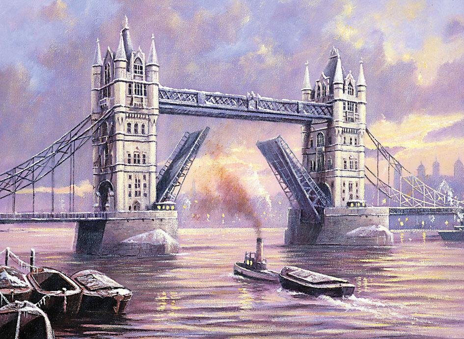 Royal Langnickel Adult Large, Tower Bridge