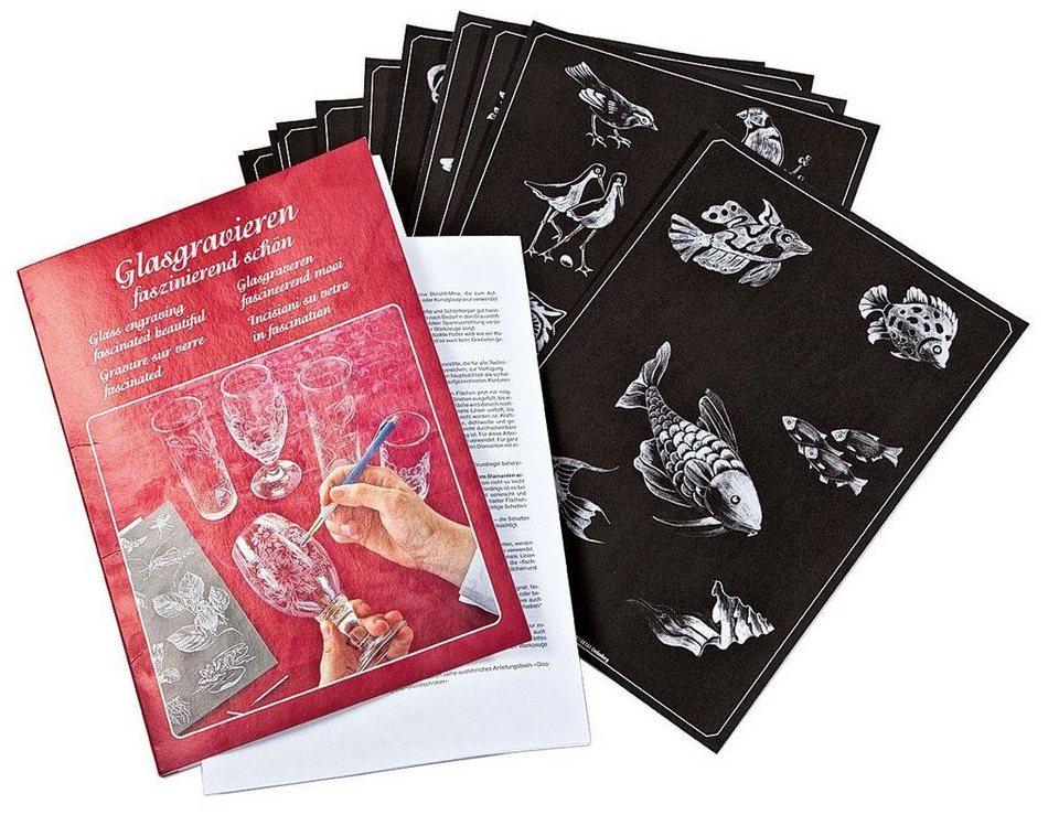 Vorlagenbuch Glasgravieren faszinierend schön