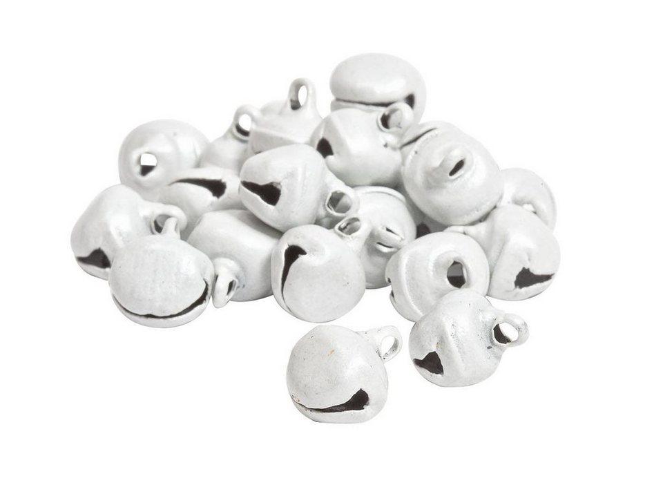 VBS Schellen, 24 Stück in Weiß