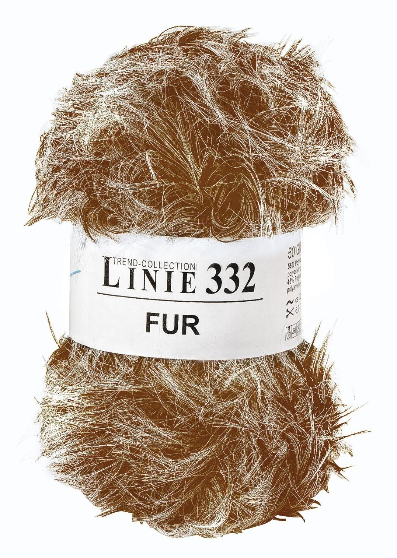 """Online Wolle, """"Fur"""", Linie 332"""