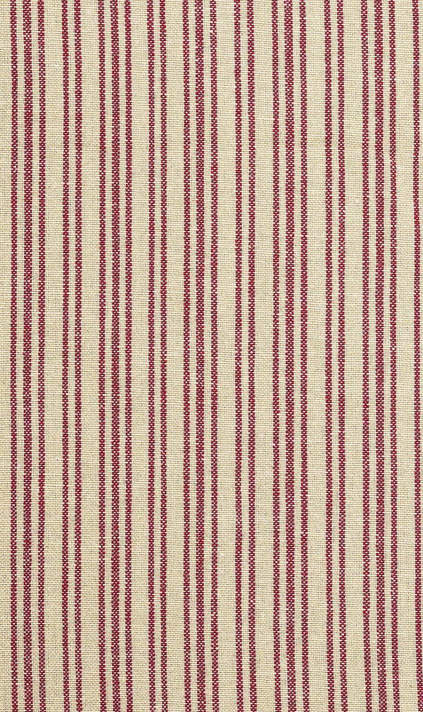 "Baumwoll-Webstoff ""Sand/Bordeaux"" 140 cm breit (Meterware)"