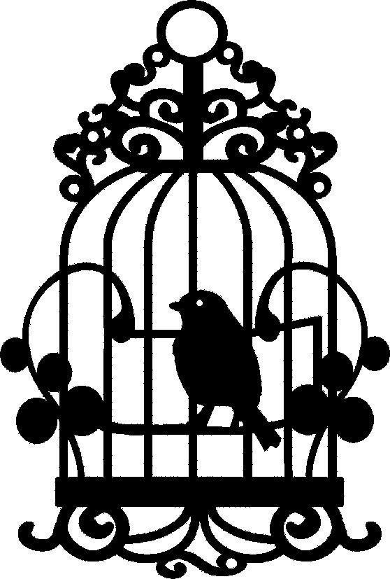 """Maskier Schablone DIN A5, """"Vogelkäfig"""""""