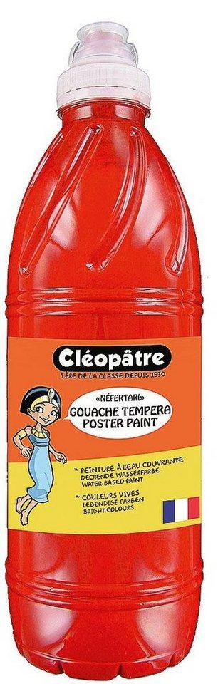 "Cléopâtre Schulmalfarbe ""Néfertari"" in Lebendiges Rot"