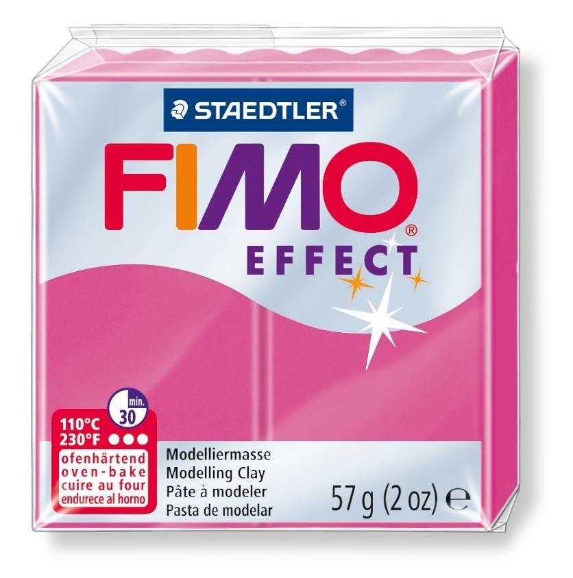 Fimo effect Edelsteinfarben in Rubin-Quarz