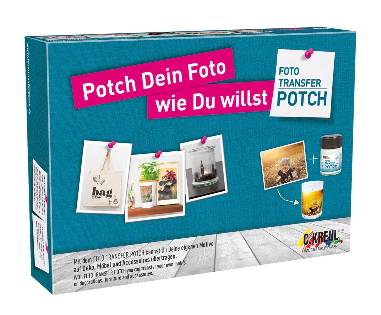 Foto Transfer Potch Set