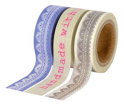 VBS Masking Tape, 3er-Set ´´With Love´´ Sale Angebote Guhrow