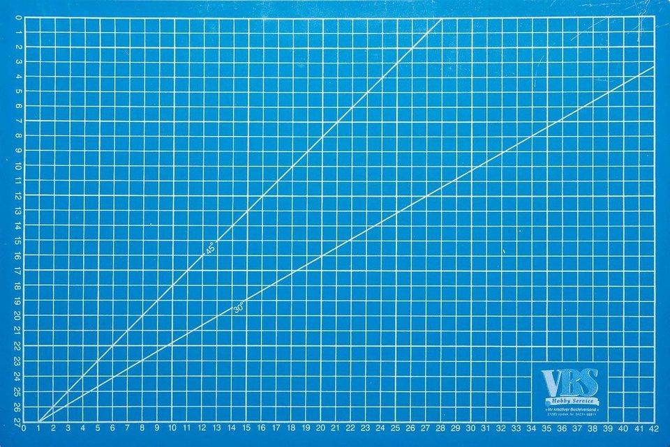VBS Profi-Schneidematte blau selbstheilend