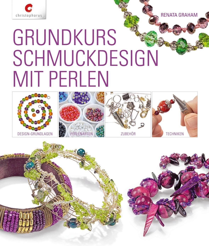 """Buch """"Grundkurs Schmuckdesign mit Perlen"""""""