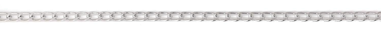 Gliederkette, 1 m, Aluminium, ca. B 6 x H 9 mm