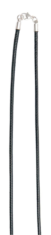 Frame-Baumwollkette, schwarz