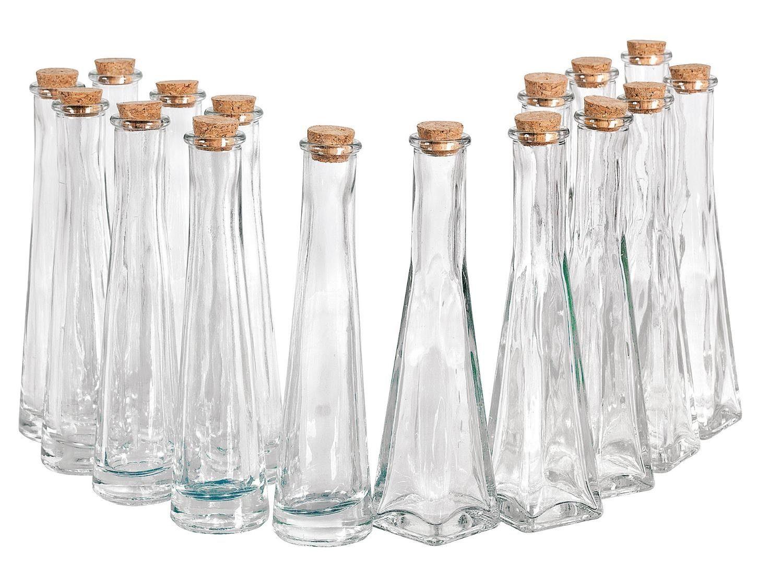 "VBS Großhandelspackung 16 Glasflaschen ""Geolini"""