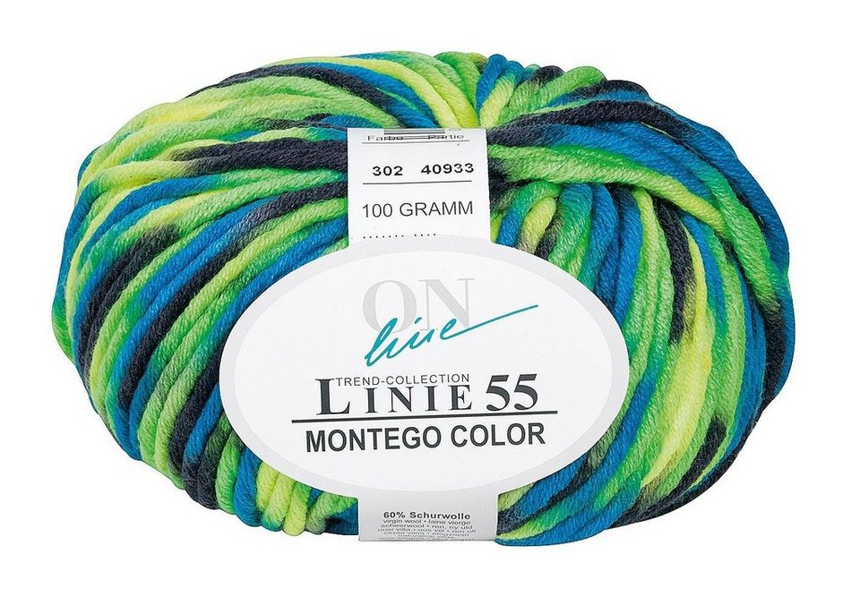 "ONline Wolle ""Montego Color"", Linie 55 in Beat"