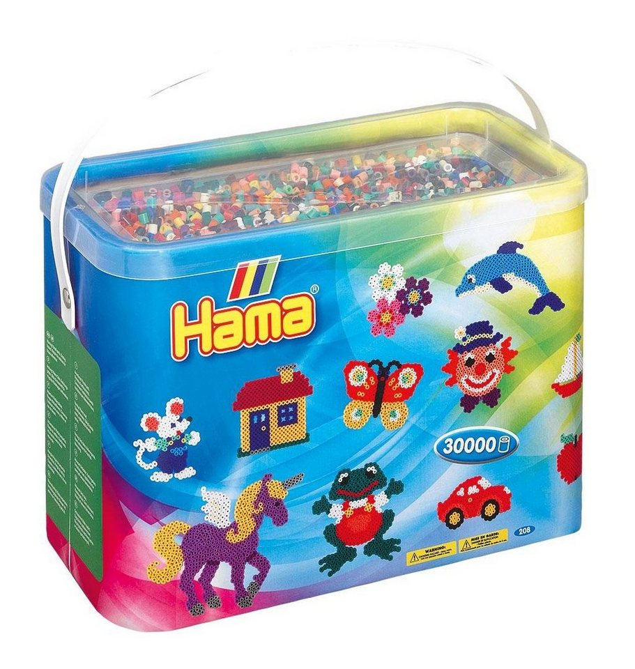 Hama Bügelperlen box mit 30.000 Perlen