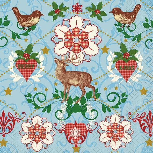 "Serviette ""Winter Wildlife"""