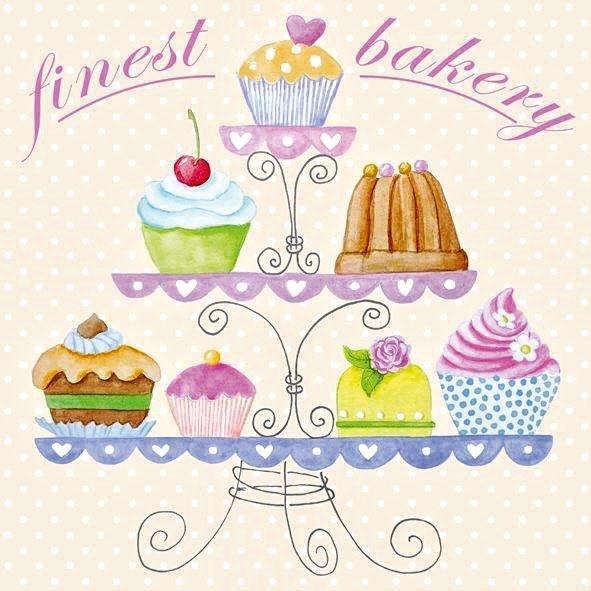 "Serviette ""Finest Bakery"""