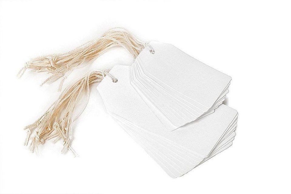 Geschenkanhänger in Weiß