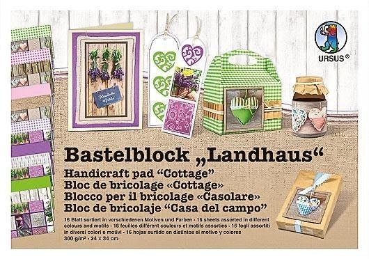 """Ursus Bastelblock """"Landhaus"""""""