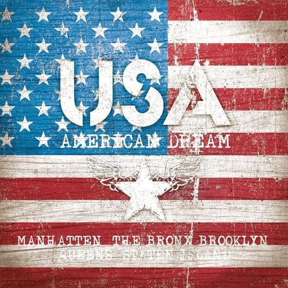 "Serviette ""American Dream"""
