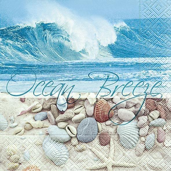 """Serviette """"Ocean Breeze"""""""