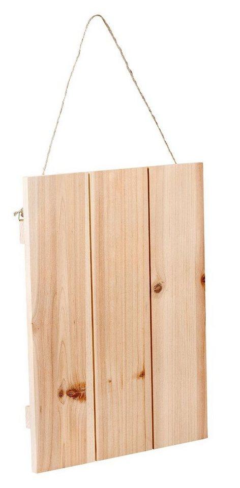 vbs deko holzplatte mit aufh ngung online kaufen otto. Black Bedroom Furniture Sets. Home Design Ideas