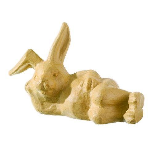 """Pappmaché """"Relax-Hase Happy"""""""