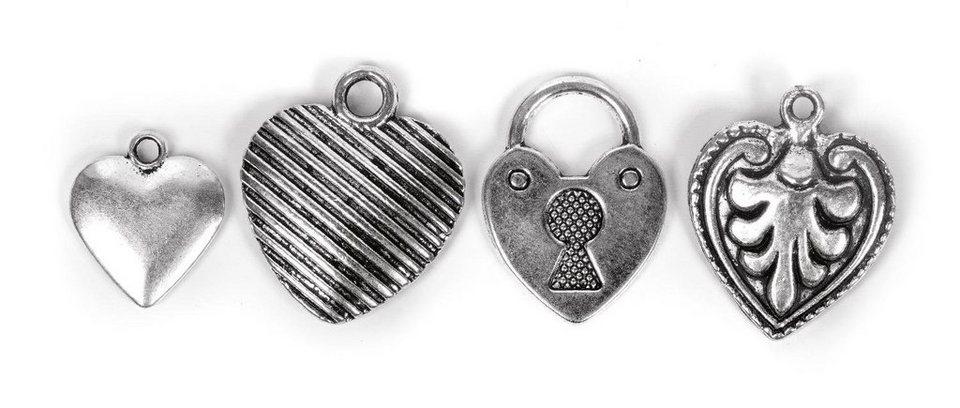 "VBS Metall-Accessoires ""Herzen"""