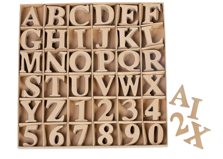 VBS Buchstaben- und Zahlensortiment