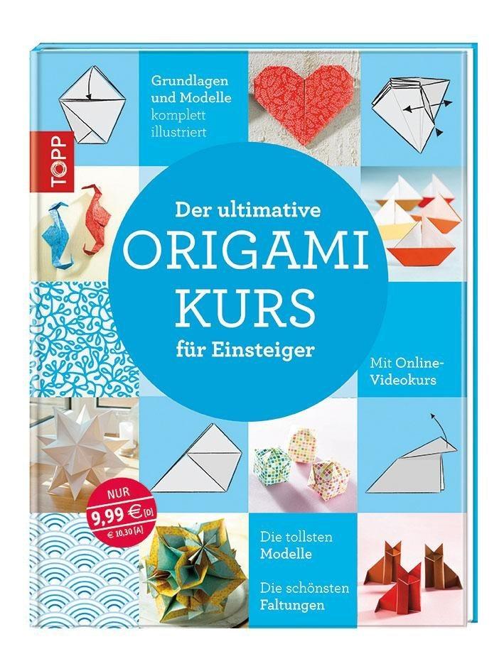 """Topp Buch """"Origami Kurs für Einsteiger"""""""
