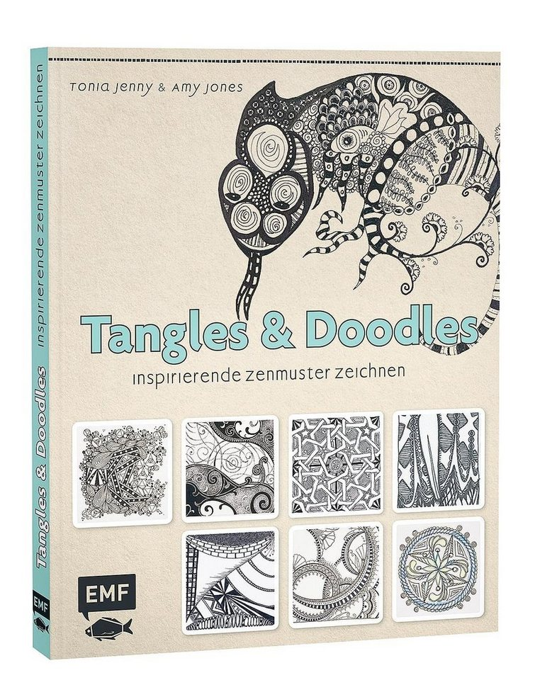 """EMF Buch """"Tangles & Doodles"""""""