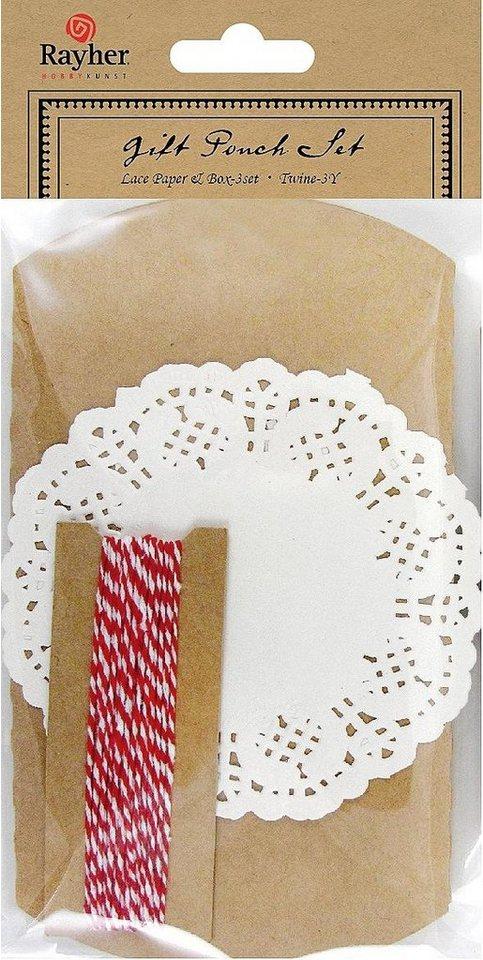 Geschenkverpackungs-Set, 9tlg.