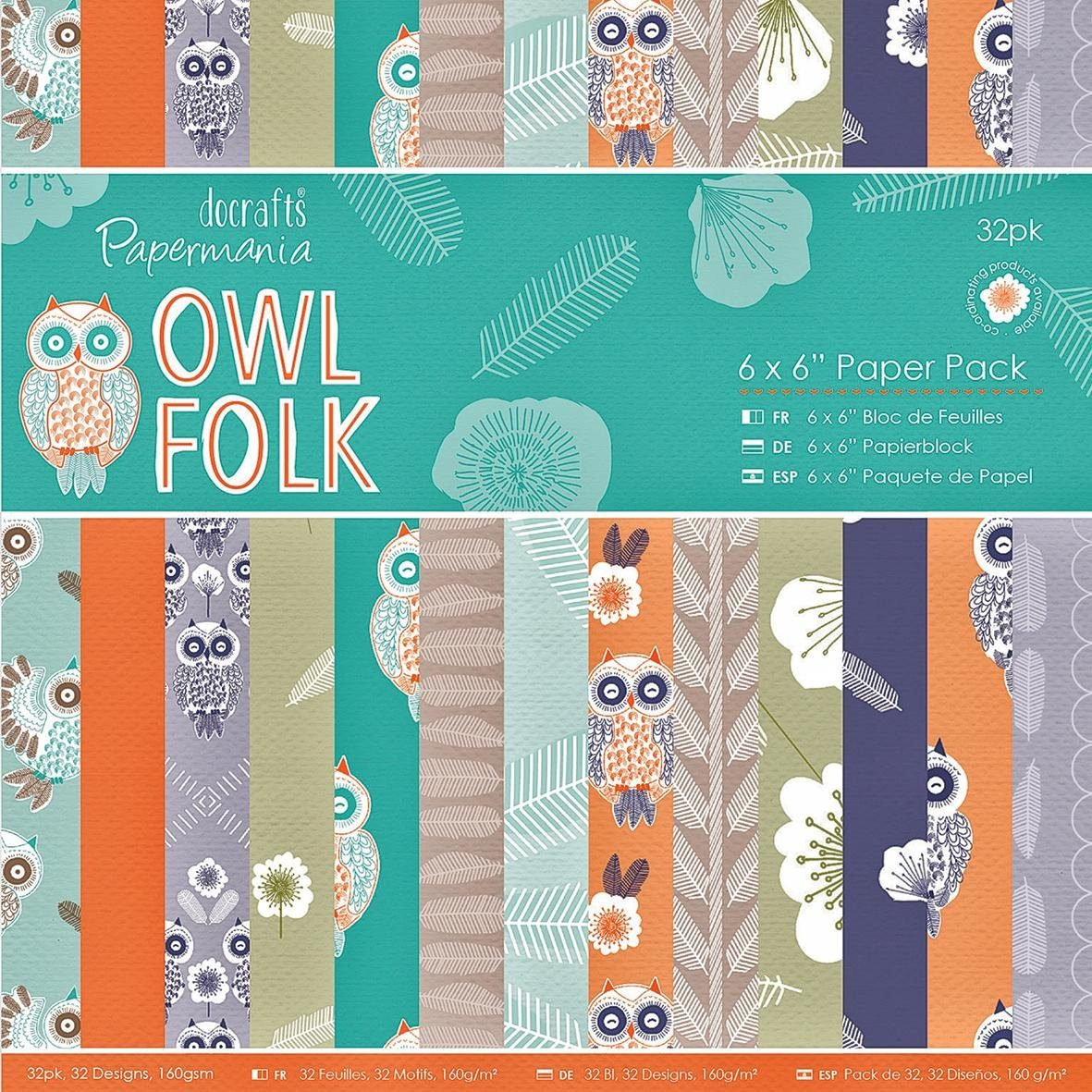 "Papier-Kollektion ""Owl Folk"""