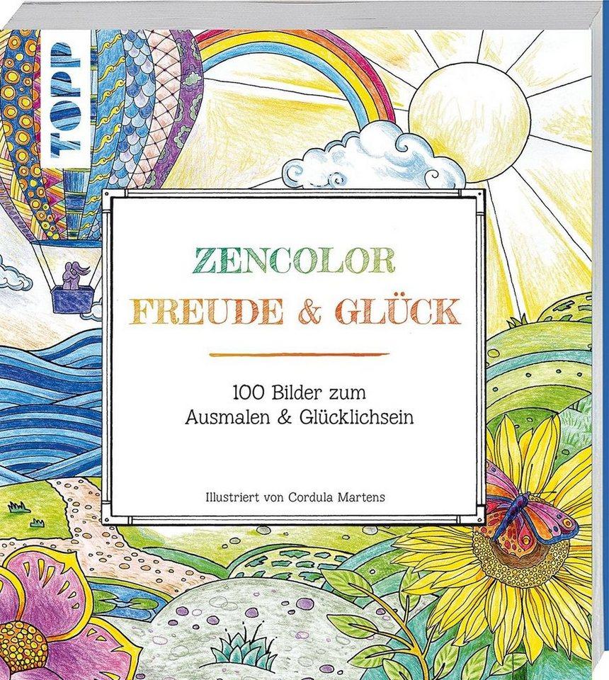 "Topp Buch ""Zencolor - Freude & Glück"""