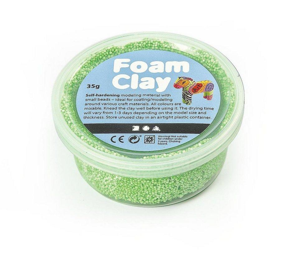 Foam Clay in Neongrün